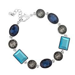 J by Jasper Conran - Designer mixed blue stone link bracelet