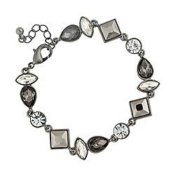 J by Jasper Conran - Designer mixed grey multi stone link bracelet