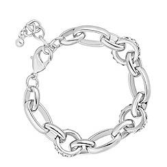 J by Jasper Conran - Designer crystal link chain bracelet
