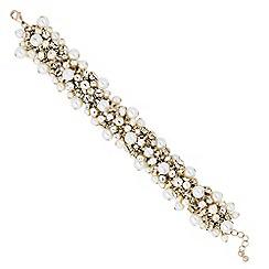 J by Jasper Conran - Designer statement pearl and crystal bracelet