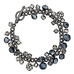 J by Jasper Conran - Designer bead and crystal shaker bracelet