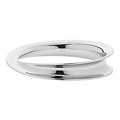J by Jasper Conran - Designer polished curved bangle