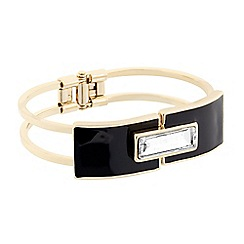 J by Jasper Conran - Designer crystal baguette and enamel bangle