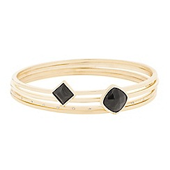J by Jasper Conran - Designer semi precious stone effect bangle set