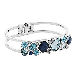 J by Jasper Conran - Designer blue tonal stone bangle