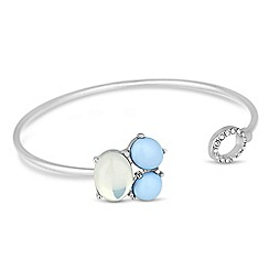 J by Jasper Conran - Designer blue cluster stone bangle