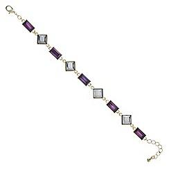 J by Jasper Conran - Designer multi tone mixed stone bracelet