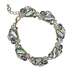 J by Jasper Conran - Designer blue tonal cluster bracelet