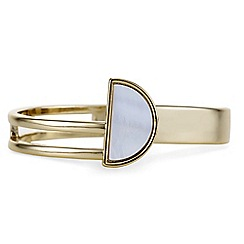 J by Jasper Conran - Designer gold mother of pearl bangle