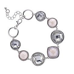 J by Jasper Conran - Designer multi shape crystal bracelet
