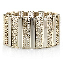 J by Jasper Conran - Designer gold filigree stick bracelet