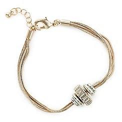 J by Jasper Conran - Designer rose gold rhondel bracelet