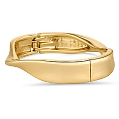 J by Jasper Conran - Designer gold twisted bangle