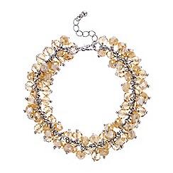 J by Jasper Conran - Designer cluster beaded bracelet