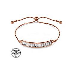 J by Jasper Conran - Designer rose gold toggle bracelet