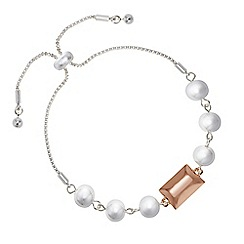 J by Jasper Conran - Designer multi shape toggle bracelet