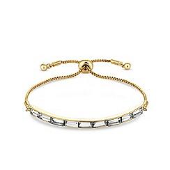 J by Jasper Conran - Designer crystal toggle bracelet