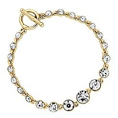 J by Jasper Conran - Designer graduated crystal bracelet