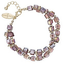 J by Jasper Conran - Designer square facet bead bracelet
