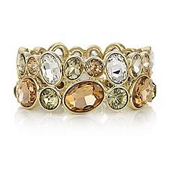 J by Jasper Conran - Designer crystal circle cluster bracelet