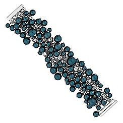 J by Jasper Conran - Teal pearl shaker bracelet