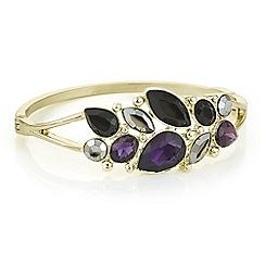 J by Jasper Conran - Designer purple crystal multi stone bracelet