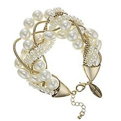 J by Jasper Conran - Designer pearl and chain twist necklace