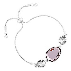 J by Jasper Conran - Designer crystal mixed shape toggle bracelet