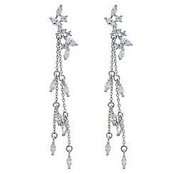 No. 1 Jenny Packham - Designer cubic zirconia tassel drop earring