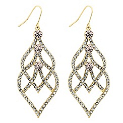 No. 1 Jenny Packham - Designer crystal filigree chandelier earring