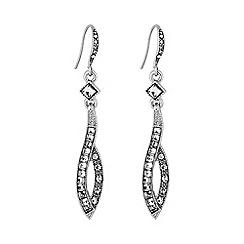 No. 1 Jenny Packham - Designer vintage inspired swirl earring