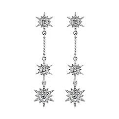 No. 1 Jenny Packham - Designer silver multi star earring