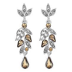 No. 1 Jenny Packham - Designer flower drop earring