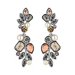 No. 1 Jenny Packham - Designer multi stone drop earring