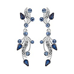 No. 1 Jenny Packham - Designer vintage leaf earring