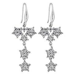 No. 1 Jenny Packham - Designer crystal star cluster earrings