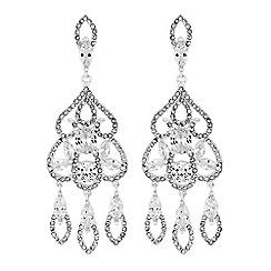 No. 1 Jenny Packham - Designer filigree statement earrings