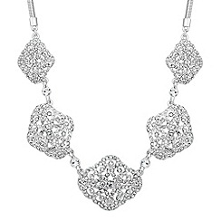 No. 1 Jenny Packham - Designer crystal filigree five link necklace