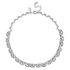 No. 1 Jenny Packham - Designer scalloped collar necklace