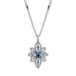 No. 1 Jenny Packham - Designer blue crystal necklace