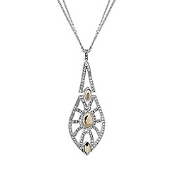 No. 1 Jenny Packham - Designer crystal deco necklace