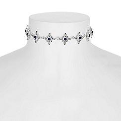 No. 1 Jenny Packham - Designer floral choker necklace