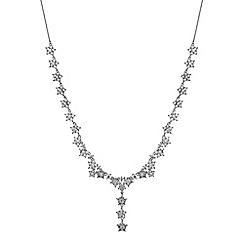 No. 1 Jenny Packham - Designer crystal star cluster necklace