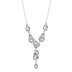 No. 1 Jenny Packham - Designer crystal cluster necklace