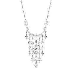 No. 1 Jenny Packham - Designer daisy leaf necklace