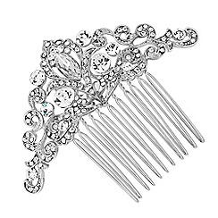 No. 1 Jenny Packham - Designer crystal encased filigree hair comb