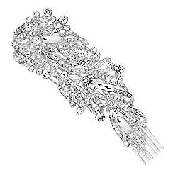 No. 1 Jenny Packham - Designer crystal encased vintage style hair comb