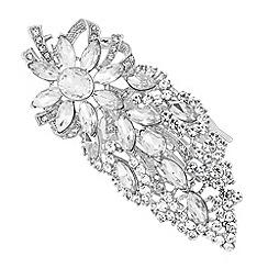 No. 1 Jenny Packham - Designer silver crystal vintage inspired hair comb