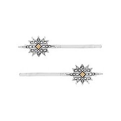 No. 1 Jenny Packham - Designer crystal burst hair slide set
