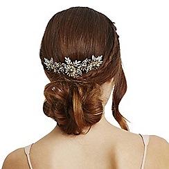 No. 1 Jenny Packham - Designer multi tone floral hair comb